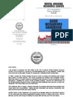 Boston Rental Handbook