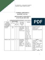 Danut Raport anual 2019-2020