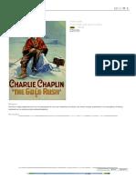 A Quimera do Ouro (Charles Chaplin 1925)