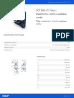 UCF 207-20 Paliers roulements-inserts à applique carrée_20210430
