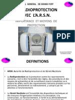 9 LA RADIOPROTECTION avec L'ARSN Importance et Moyens de protection