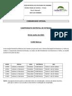 Campeonato Distrital de Estrada (1)