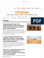 Campo - Infobae