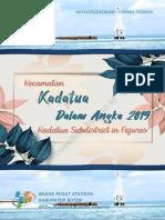 Kecamatan Kadatua Dalam Angka 2019