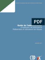 Guide de l'administrateur d'institution de prévoyance - Référentiels et indicateurs de risques