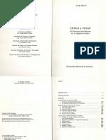 Myers, Jorge_Orden y Virtud. (Cap.5)