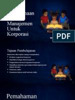 PPT Modul 3 - Teknik Perencanaan Audit Manajemen Untuk Korporasi