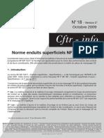 Nif n°18 - Normes enduits superficiels NF EN 12271