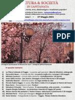 Cultura & Società in Capitanata N. 28 Del 27-05-2021