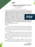 O CANTO CORAL NO BRASIL - TRAÇADOS SOBRE UMA PRÁTICA DE EDUCAÇÃO MUSICAL
