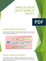 MANIPULACIÓN DE SUSTANCIAS QUÍMICAS PARTE 2