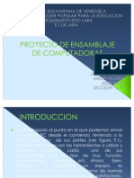 PROYECTO DE INFORMATICA EMSAMBLE DE PC