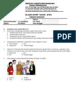 Soal Pas Kelas 4 Tema 8 - Beres
