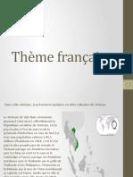 Thème Français