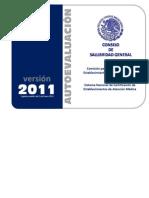 Autoevaluacion para la Certificación de Hospitales 2011