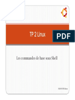 Cours 2 Linux