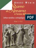 Wénin, A. - Da Adamo ad Abramo Lectura Antropológica del Génesis