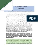 Patto Per Napoli 2021, Pd-M5S-Leu