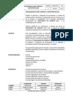 Procedimiento para Compras y Subcontratación V. 6