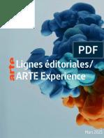 Arte Lignes Editoriales 2021
