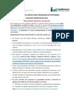 Ofertas Académicas de Posgrado 2do.  Trimestre abril-junio 2021. 26 de mayo