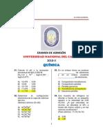 EXAMEN DE ADMISÓN UNAC 2010 - II