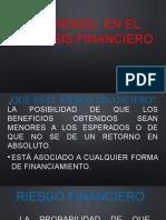RIESGO EN EL ANALISIS FINANCIERO