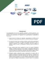 Pronunciamento de gremios sobre la gobernabilidad y estabilidad en el país (1)