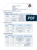 Criollo Jenny Curriculum