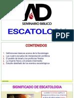 01 Clase 1 Escatologia
