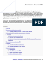 Chromatographie en Phase Gazeuse (CPG)