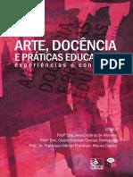 LIVRO_ARTE, DOCÊNCIA E PRÁTICAS EDUCATIVAS