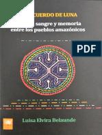 2019 - El Recuerdo de Luna. Genero Sangr