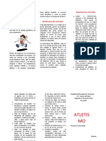 triptico del ATLETISMO Alanis Oliveros