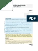 Modulo 5 Planejamento Estratégico Para Organizações Públicas