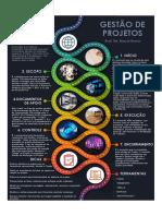 infografico. Gestão de projetos