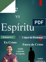 carne vs espiritu
