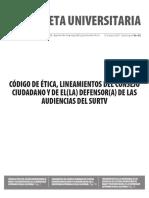 Gaceta 462 - Edición especial