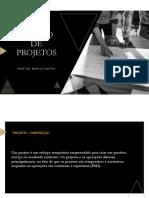 Material. Fundamentos de Gestão de Projetos