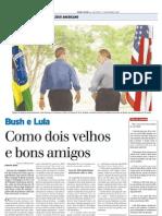 2005 - Visita do presidente George Bush ao Brasil