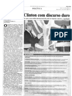 1997 - Visita do presidente Bill Clinton ao Brasil