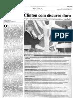 1997 - Visita do presidente Bill Clinton ao Brasil