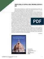 Il segreto della cupola del Brunelleschi