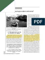 Agroecologia e saber ambiental