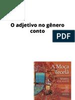 A Moça Tecelã - adjetivos
