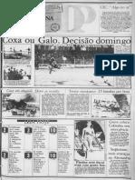 Recorte do Diário do Paraná 1977 sobre Plínio Sussekind Rocha. Autoria de Paulo Emílio Salles Gomes