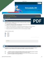 CONTABILIDADE GERENCIAL - SIMULADO
