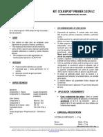 FICHA TECNICA  KIT COLREPOX PRIMER 1029 LC (V1) - COLQUIMICOS