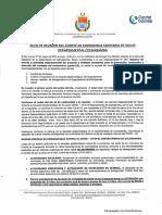 Acta de reunión del COED Cochabamba (27/5/2021)