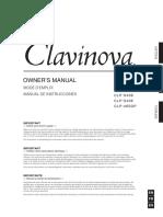 YAMAHA Clavinova CLP-470 Notice Utilisation Français